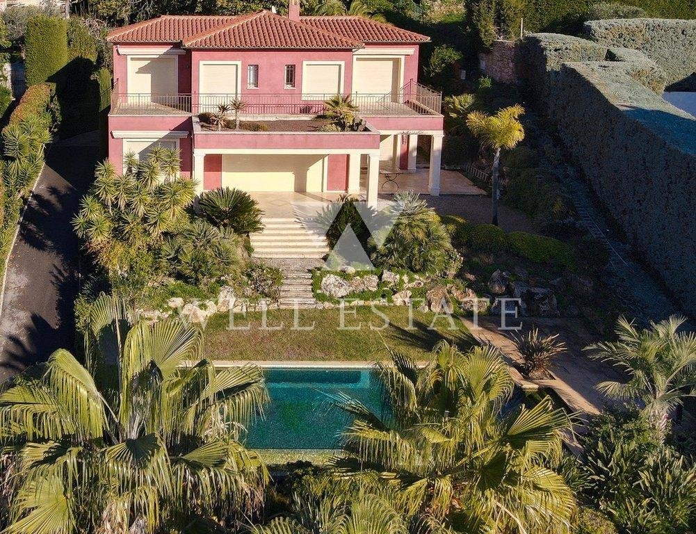 CANNES LE CANNET VILLA 4 BEDROOMS PAMORAMIQUE SEA VIEW AND INFINITY SWIMMING POOL