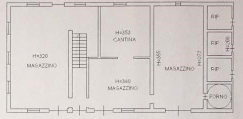 SAN COSTANZO (PU) CASALE PANORAMICO CON PARCO VISTA MARE