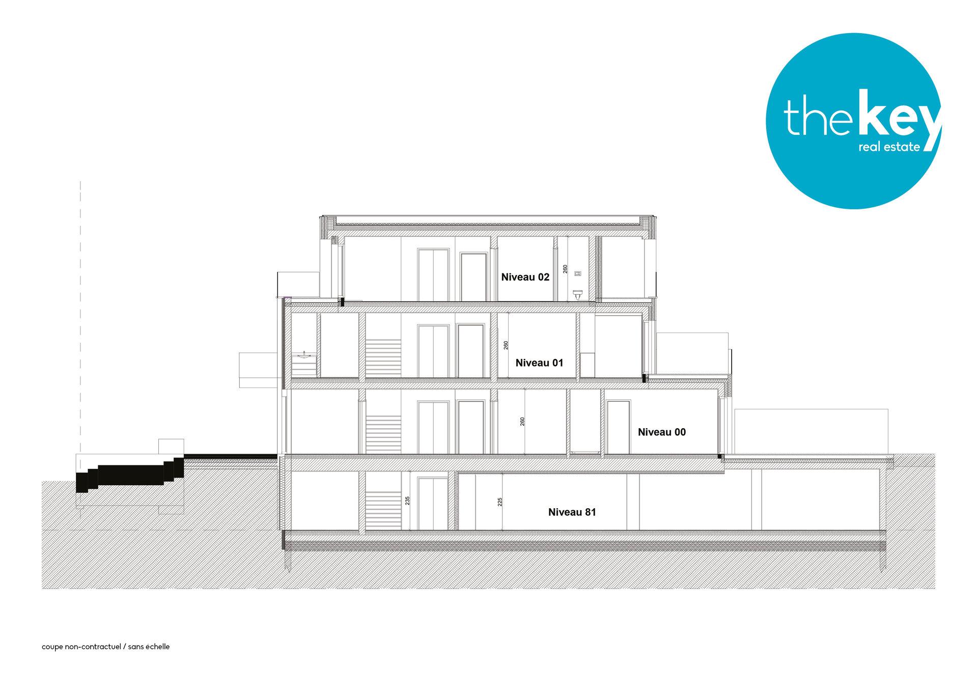 Penthouse 3 chambres à Bridel