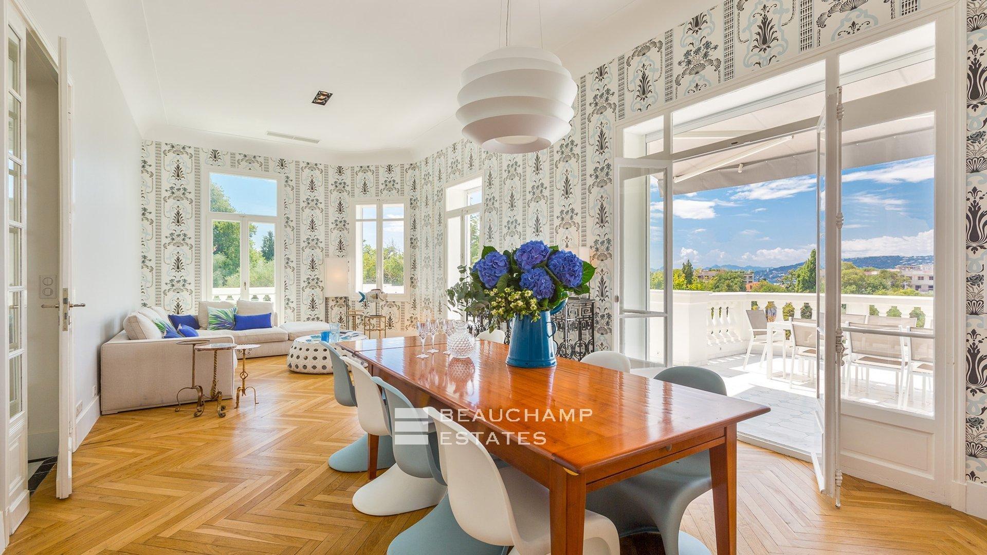 Classic 6 Bedroom Villa Cap d'Antibes Sea view