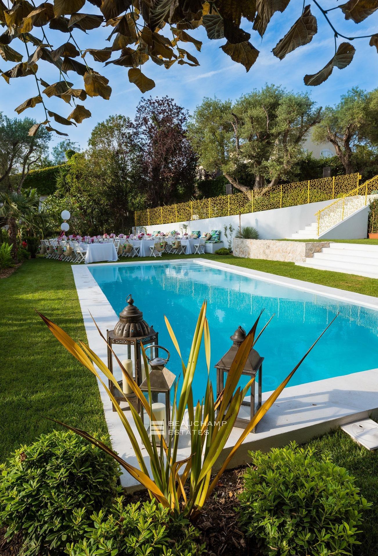 Magnifique Villa 6 Chambres Cap d'Antibes Vue Mer