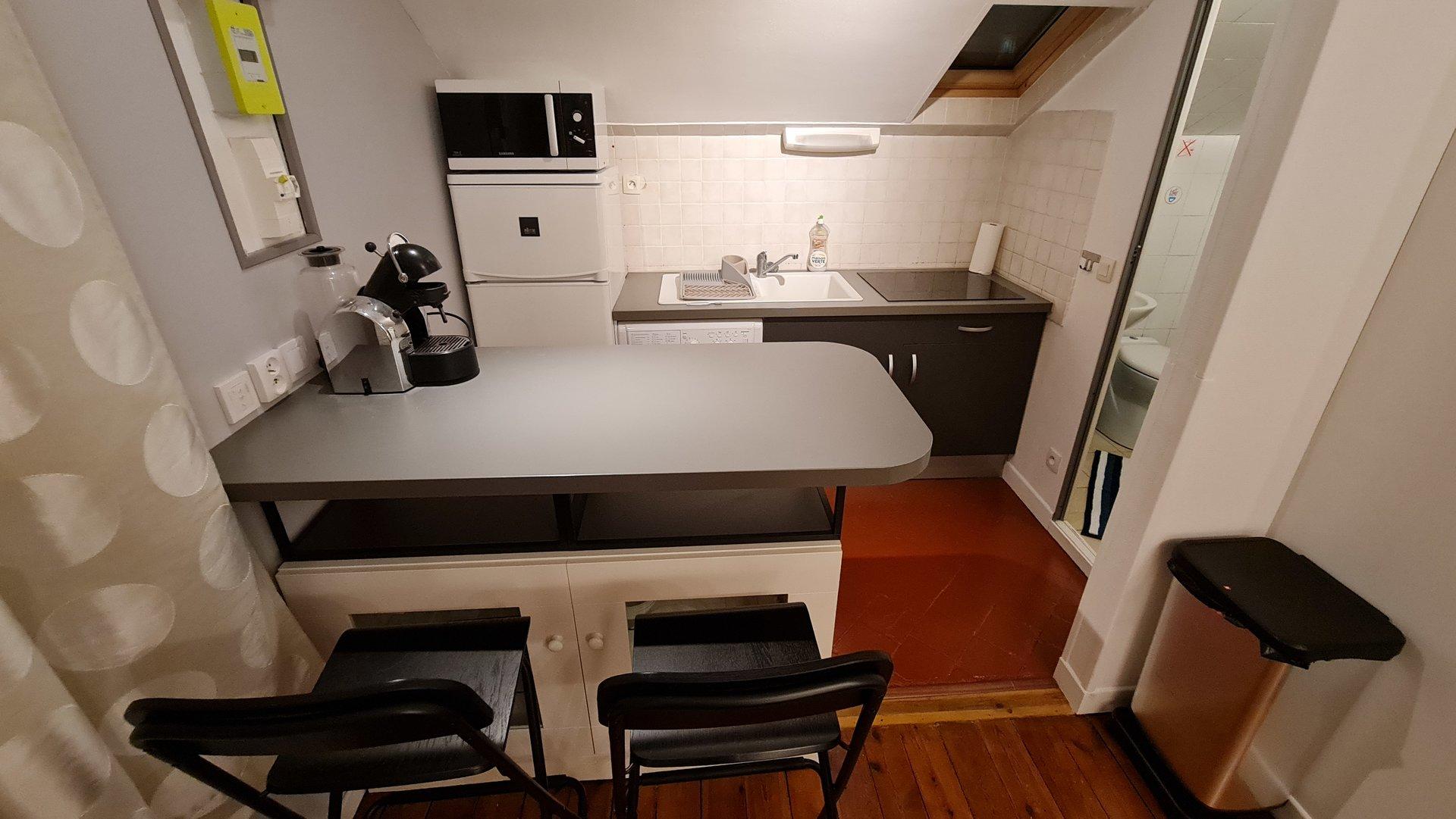 Studio meublé - BOIS COLOMBES