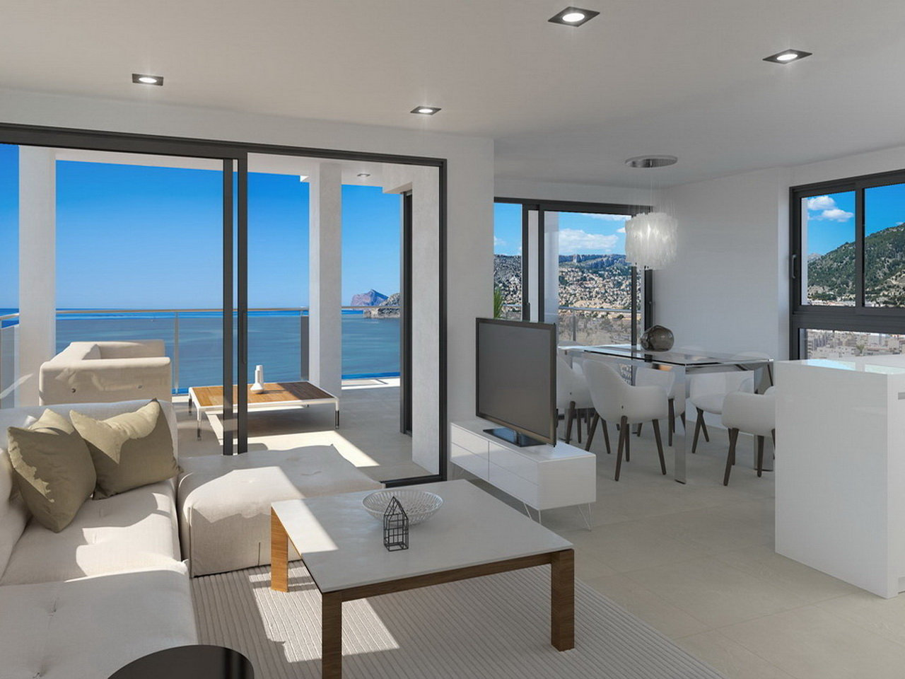 Luxury apartments with incredible sea views