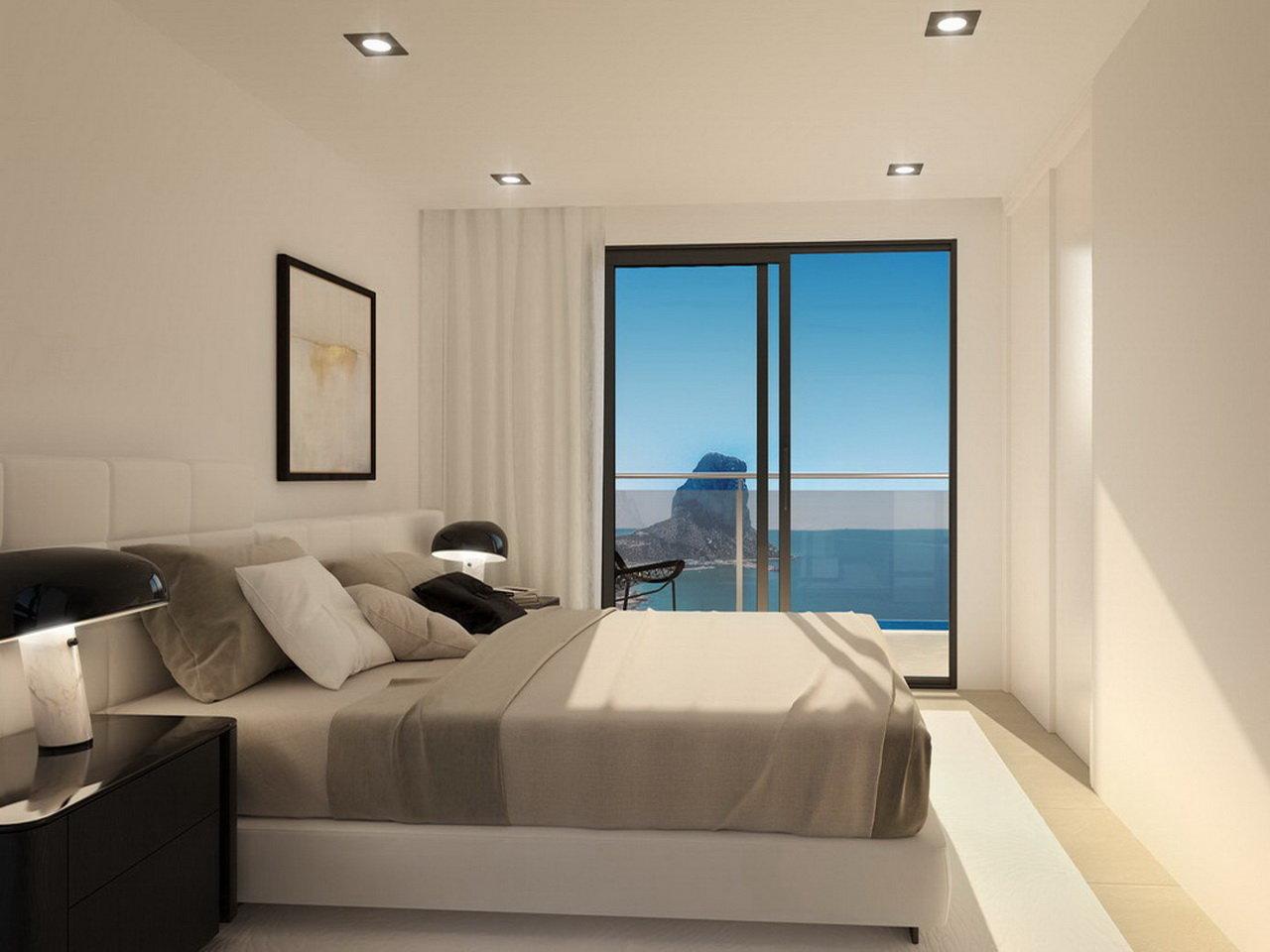 Appartements de luxe avec une vue incroyable sur la mer