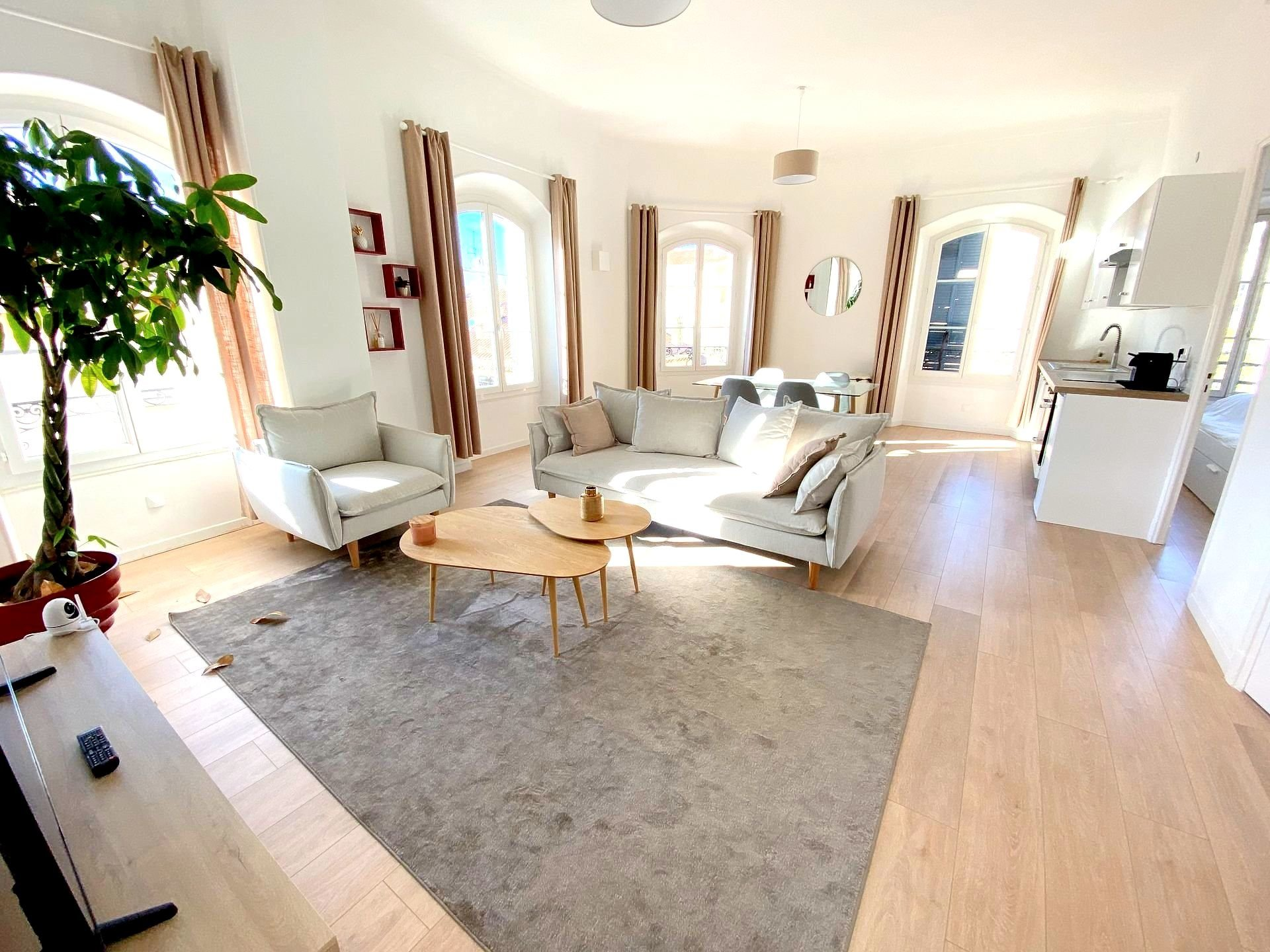 CANNES LOVELY apartment top floor 3 bedrooms for sale