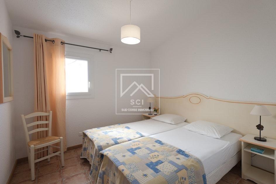 Exclusivité, Villa 2 chambres, vue mer, plage à pied, Santa Giulia