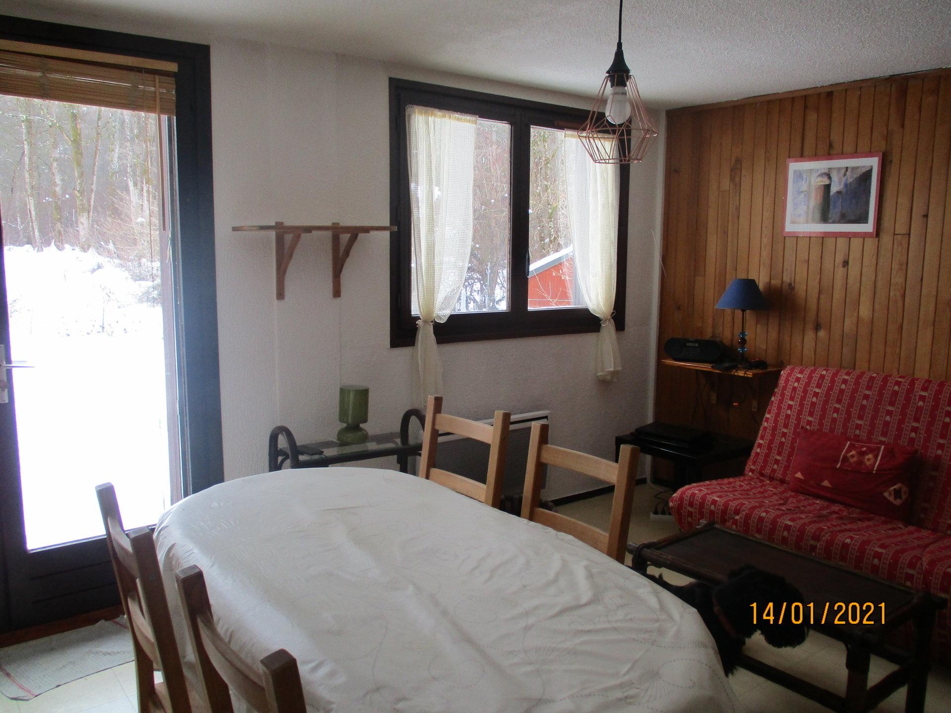 Appartement T2 meublé Jardin