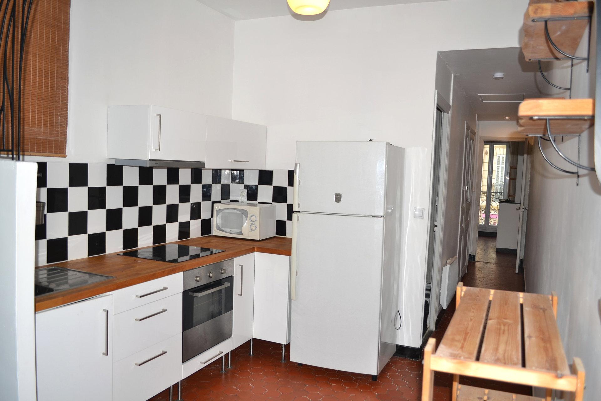 Appartement marseillais T2 Chartreux 53m²