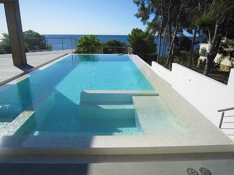 New build villa near the sea