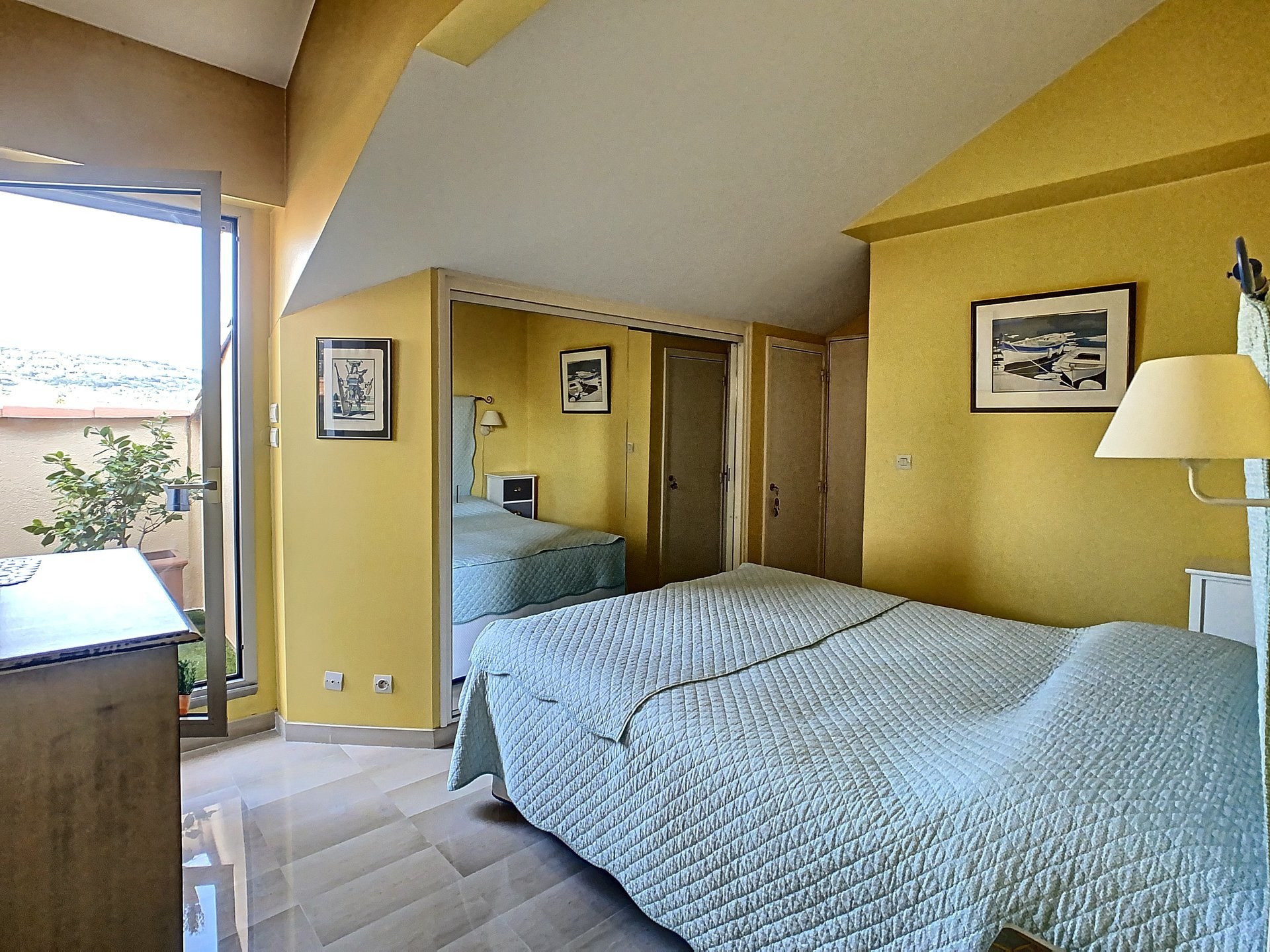 Vacker lägenhet lägenhet 110 m² terrass med havsutsikt pa sista vaningen - Cannes Le Suquet