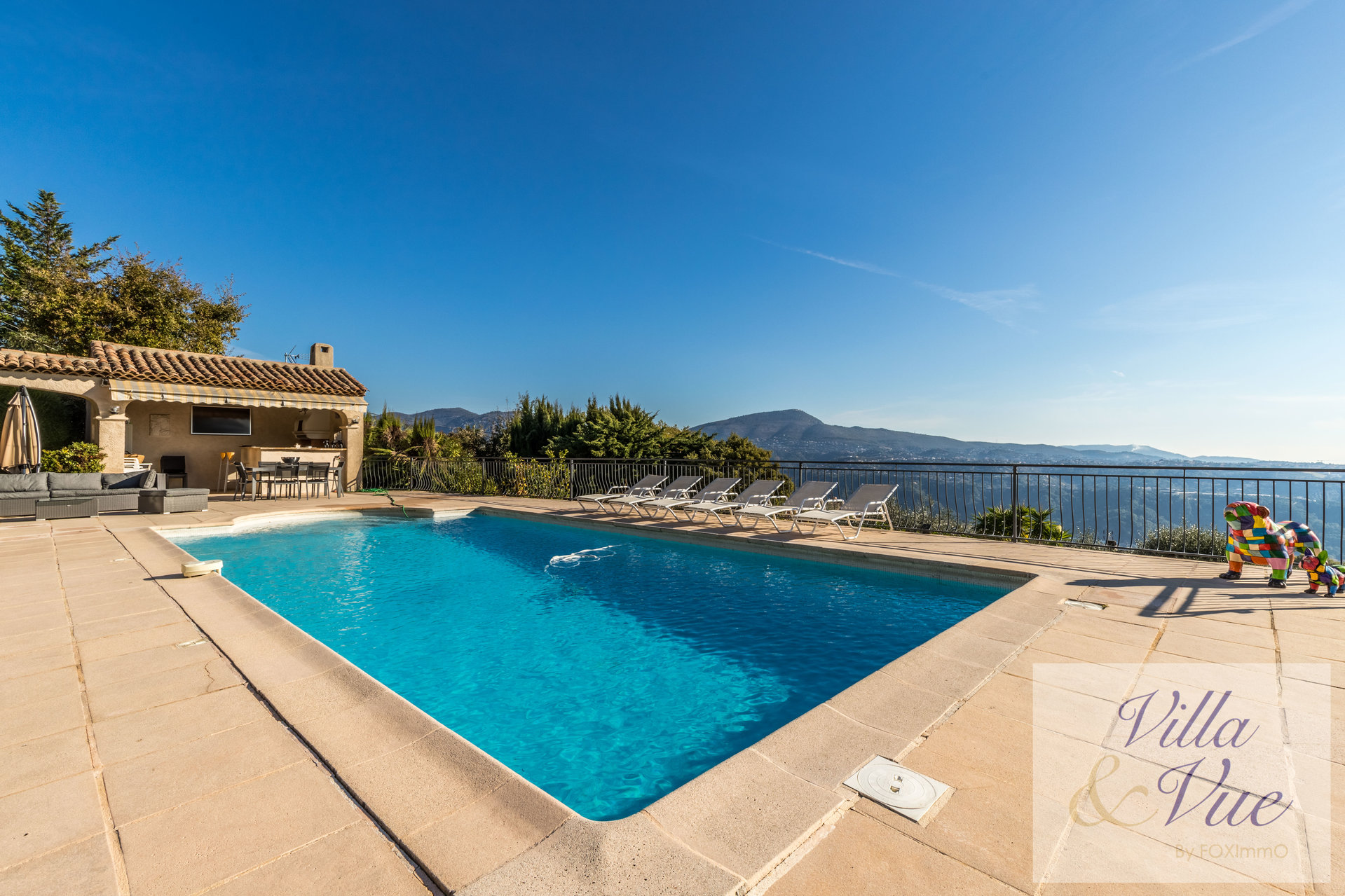 villa vista mare, zona residenziale, piscina, tranquillo, garage