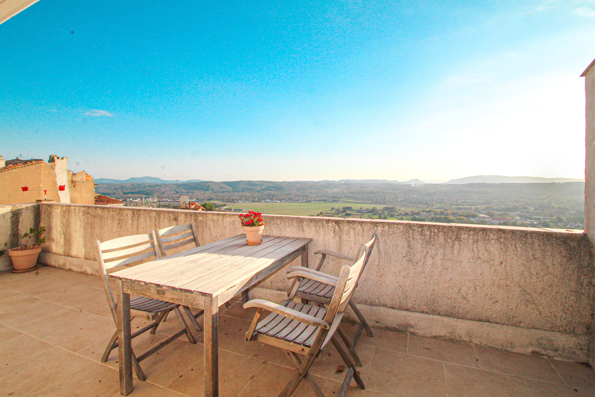Fayence  Apartment with terrace, stunning views