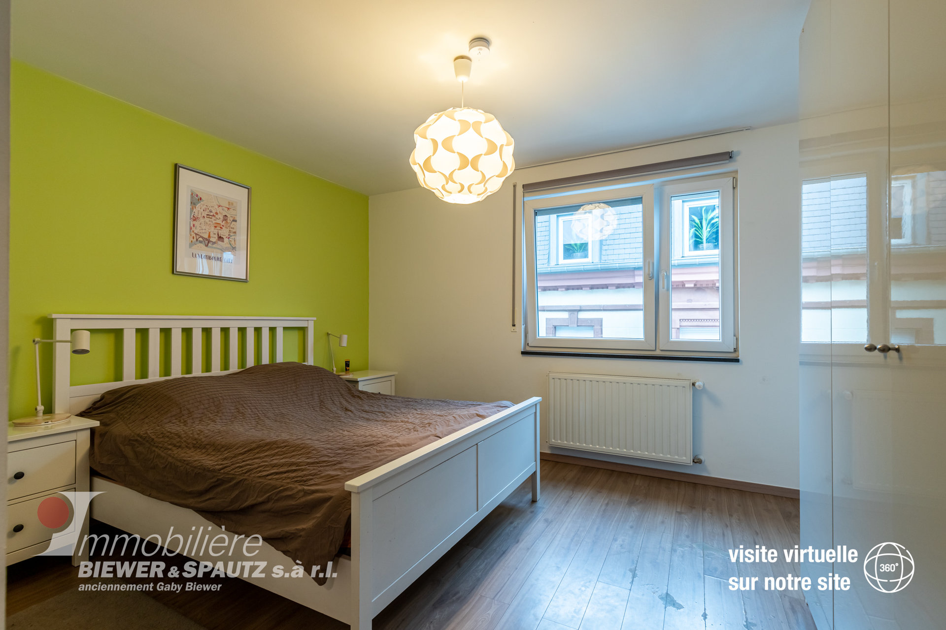 SOLD - appartment with 2 bedrooms in Ettelbrück