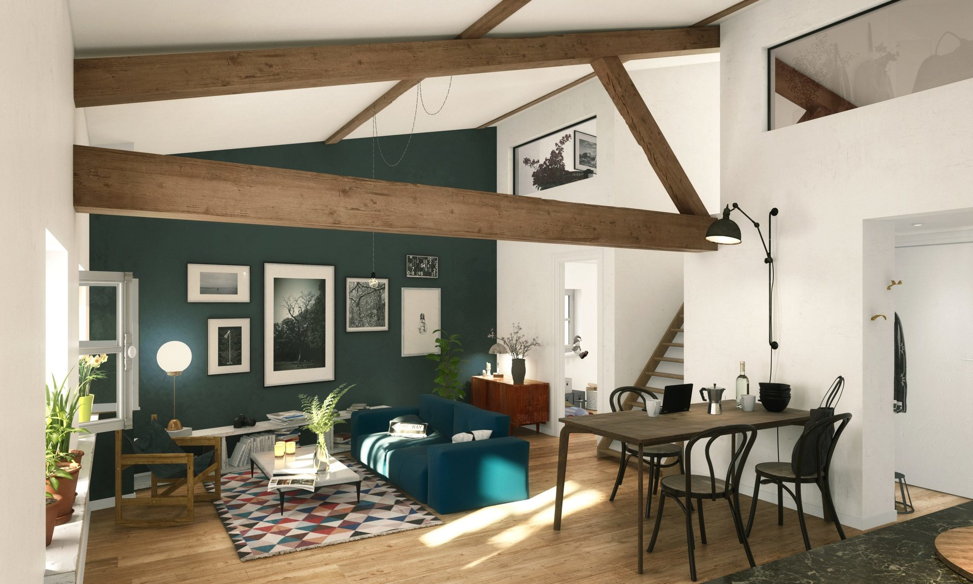 Vente Duplex - Albigny-sur-Saône