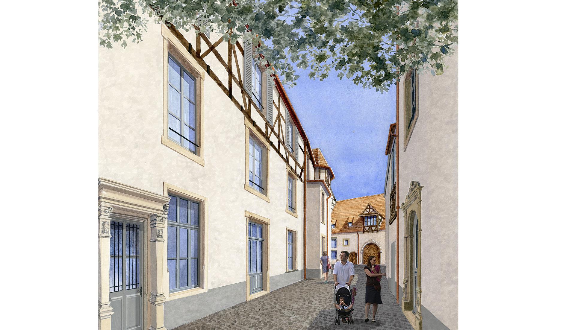 Vente Penthouse - Colmar