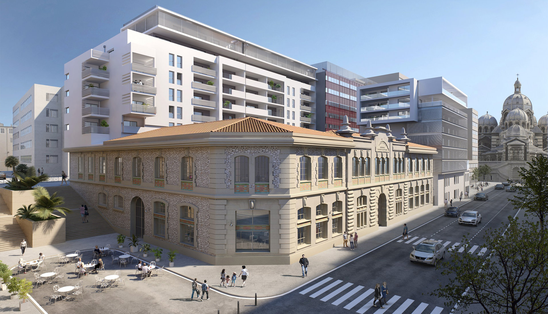 Vente Penthouse - Marseille 2ème