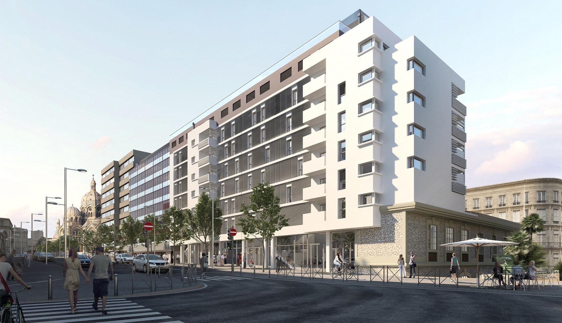 Programme Immeuble - Marseille 2ème