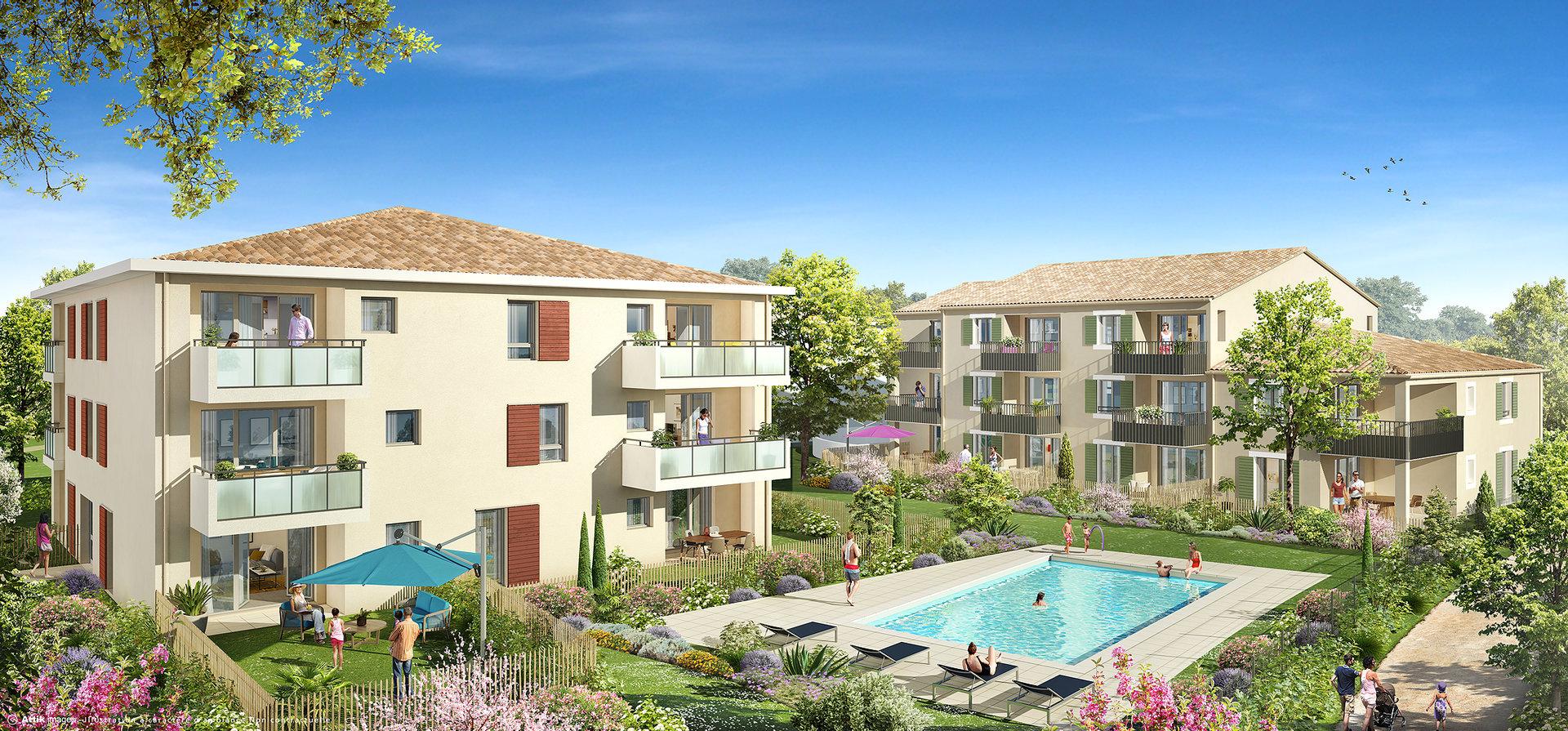 Programme Immeuble - Le Puy-Sainte-Réparade