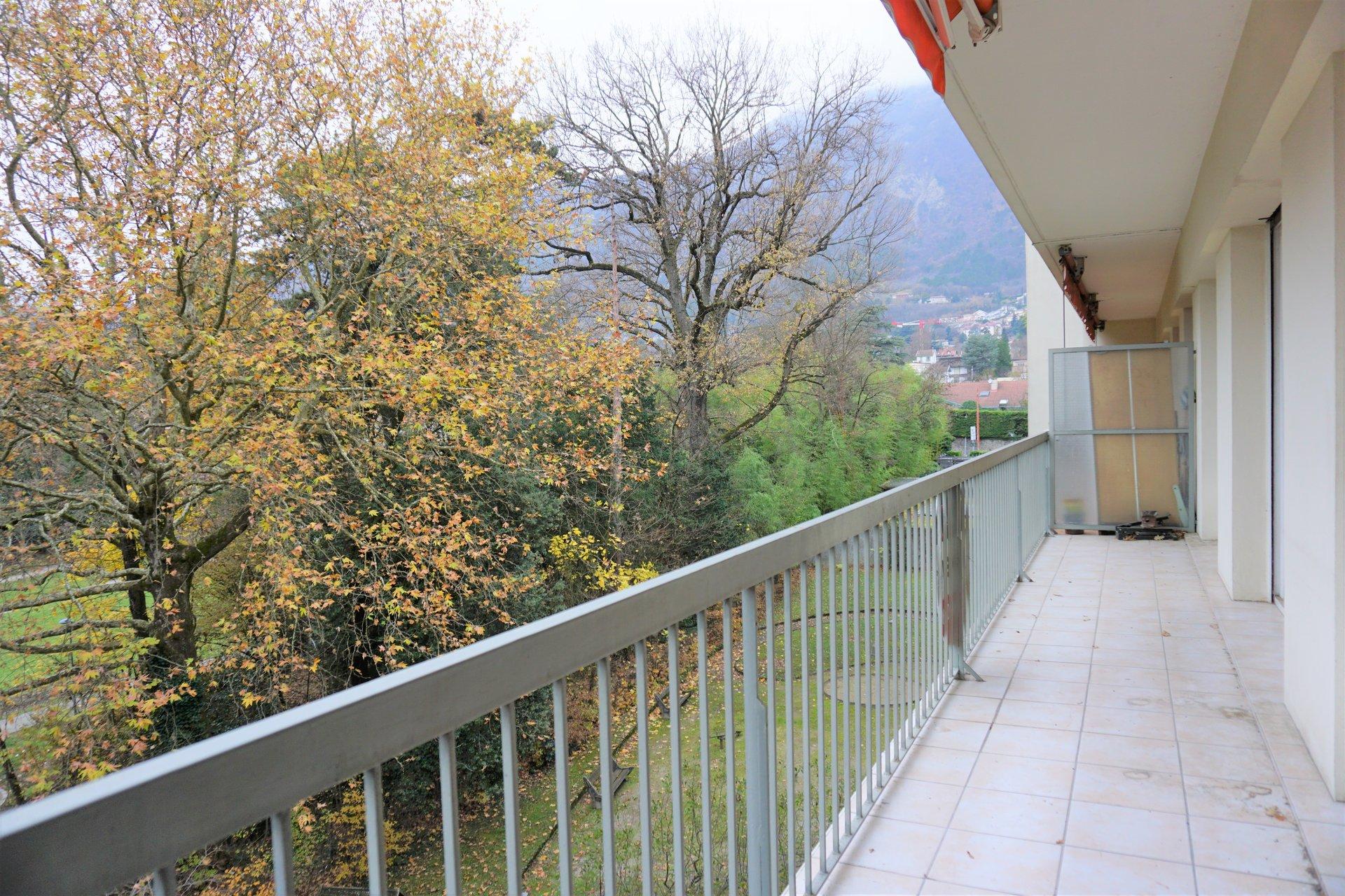 Le balcon, nouvel angle