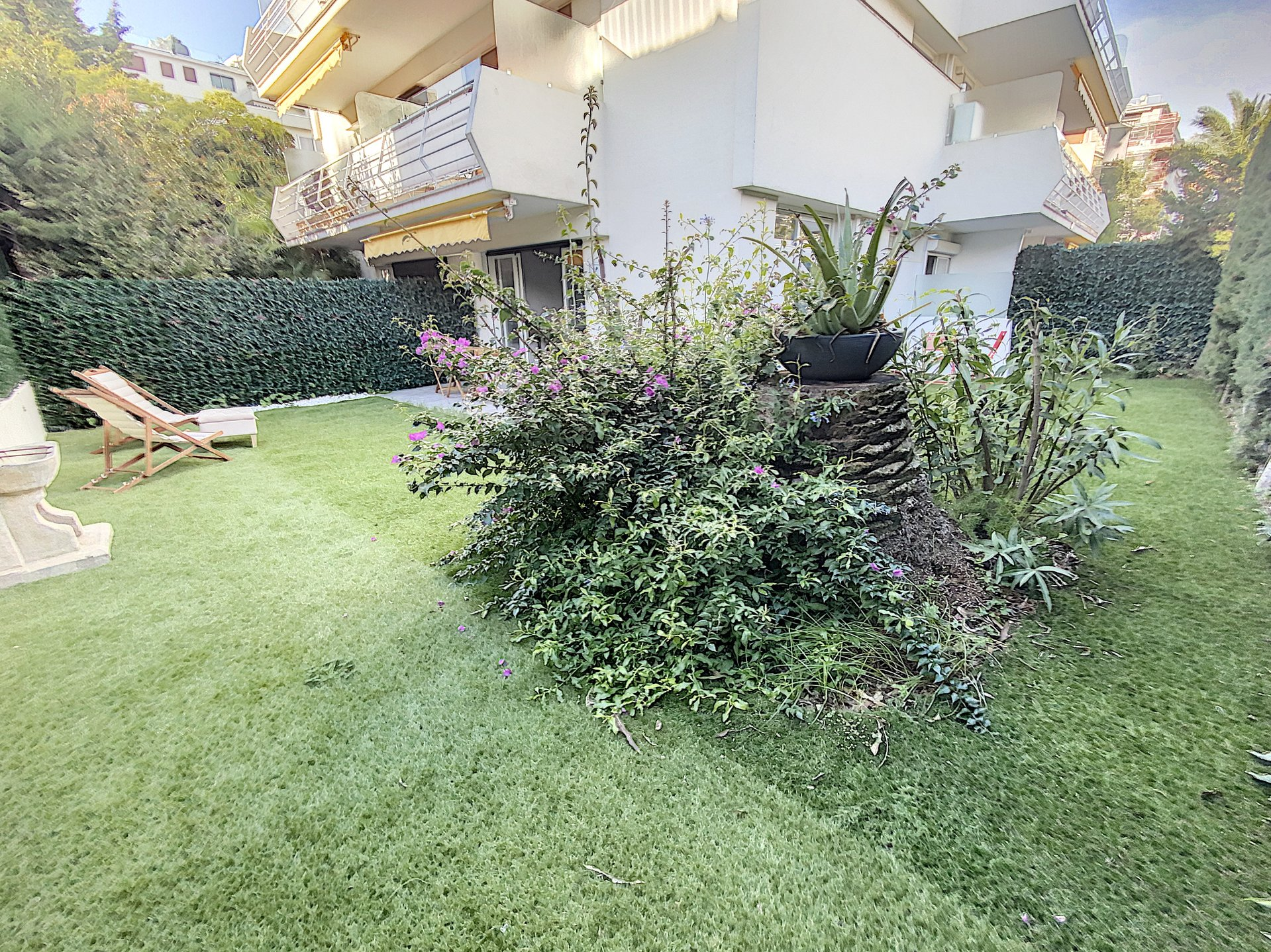 Cannes Palm Beach 2P 41 m2 jardin 100 m2