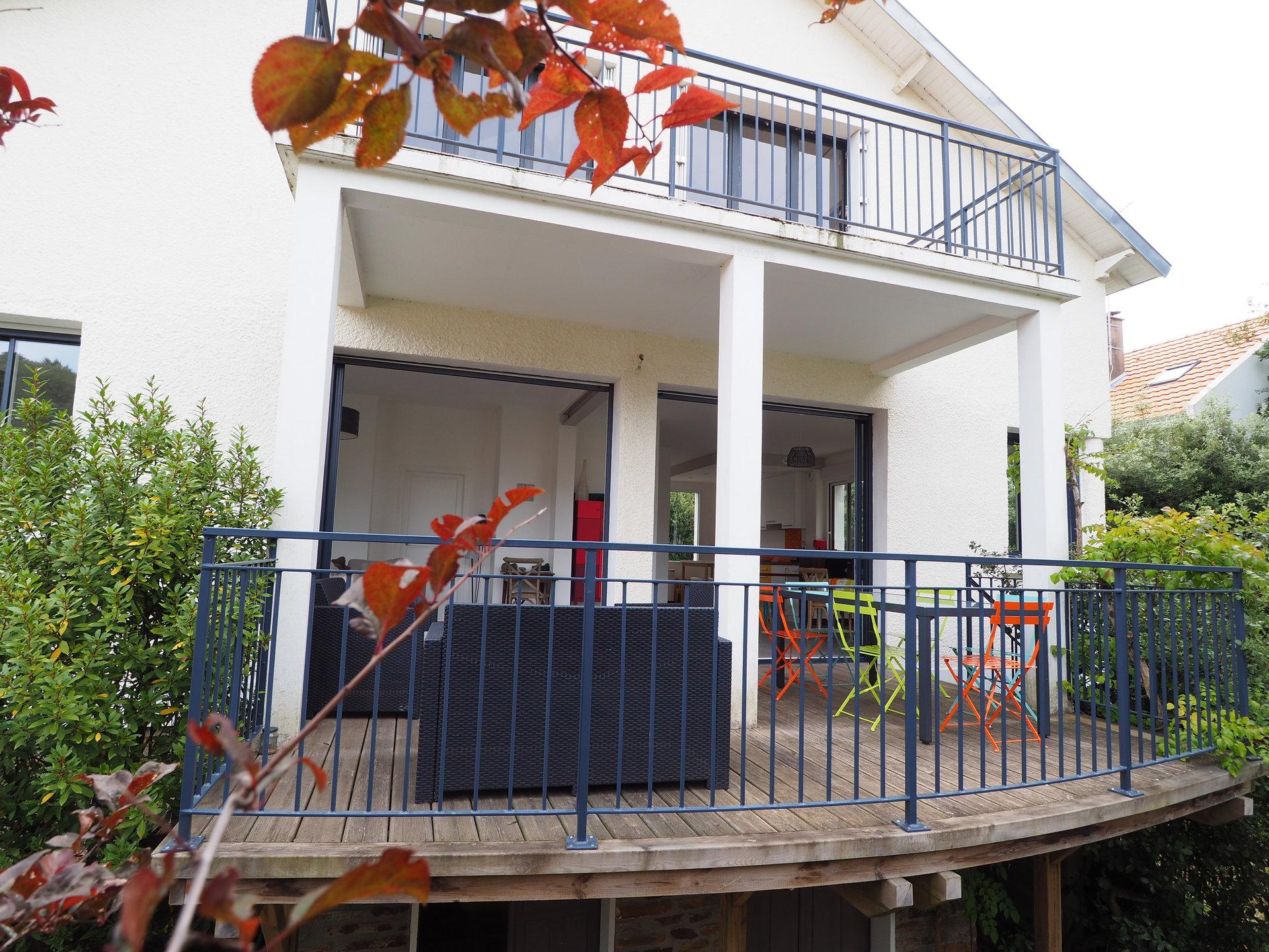 Villa familiale proche mer