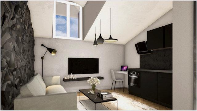 Nice FOCH - studio in top floor.