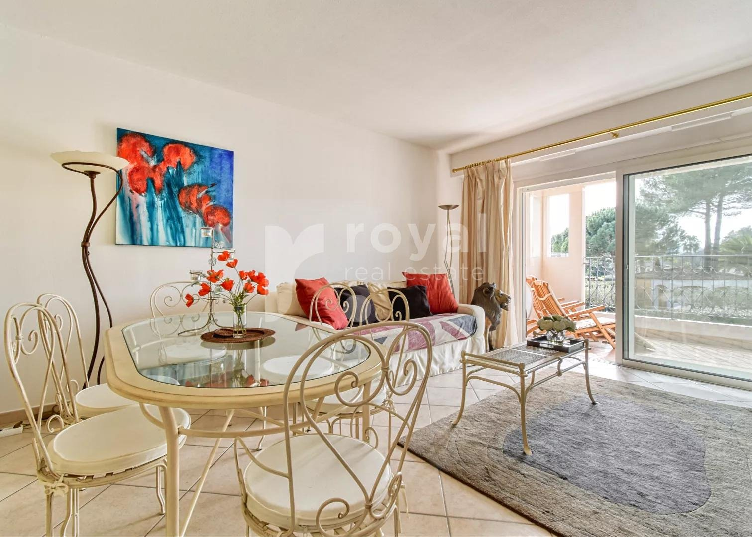 APARTMENT - MOUGINS GOLF