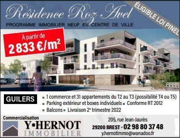 Sale Apartment - Guilers