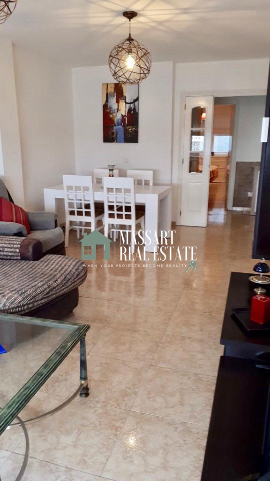 Volledig gemeubileerd appartement van 98 m2 gelegen in het centrale deel van de stad Fañabé… ideaal om te genieten van een comfortabel gezinsleven!