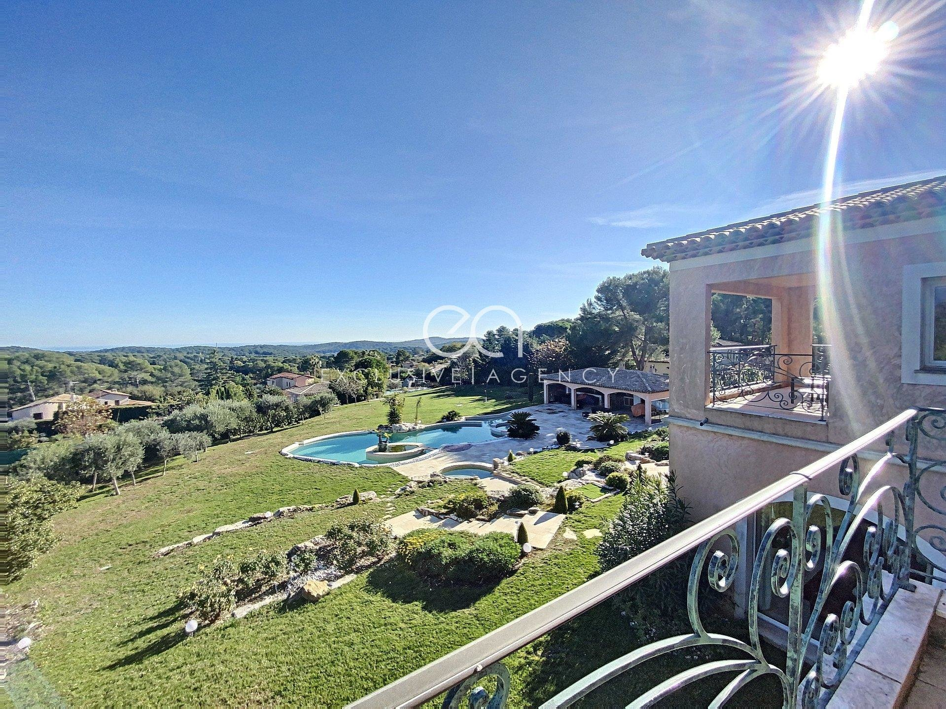 MOUGINS VILLA 500 SQM GROUND OF 7000 SQM WITH SWIMMING POOL