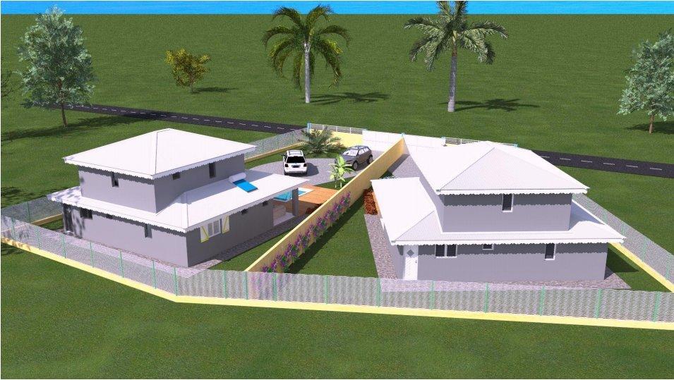 Terrain et construction d'une villa SAINTE ROSE