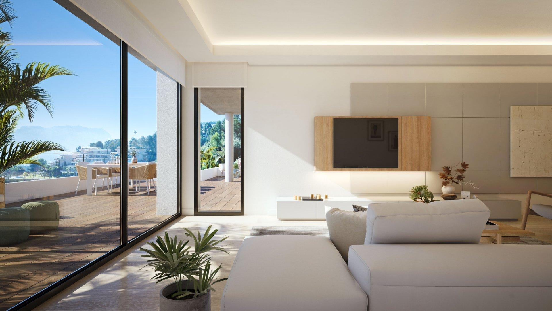 Appartements de 3 chambres pour profiter de la vie