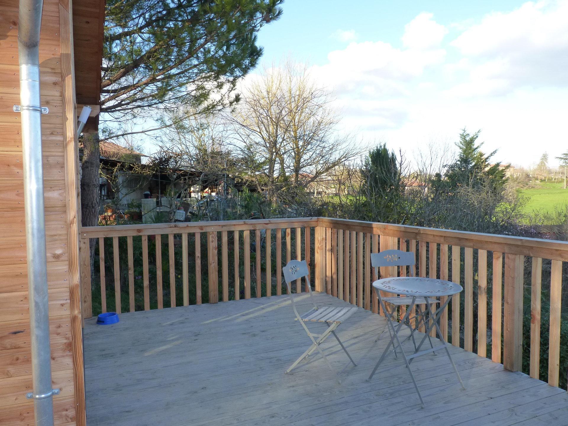 A 15 minutes du Fousseret, maison bois de 48 m² sur 5115 m² de terrain