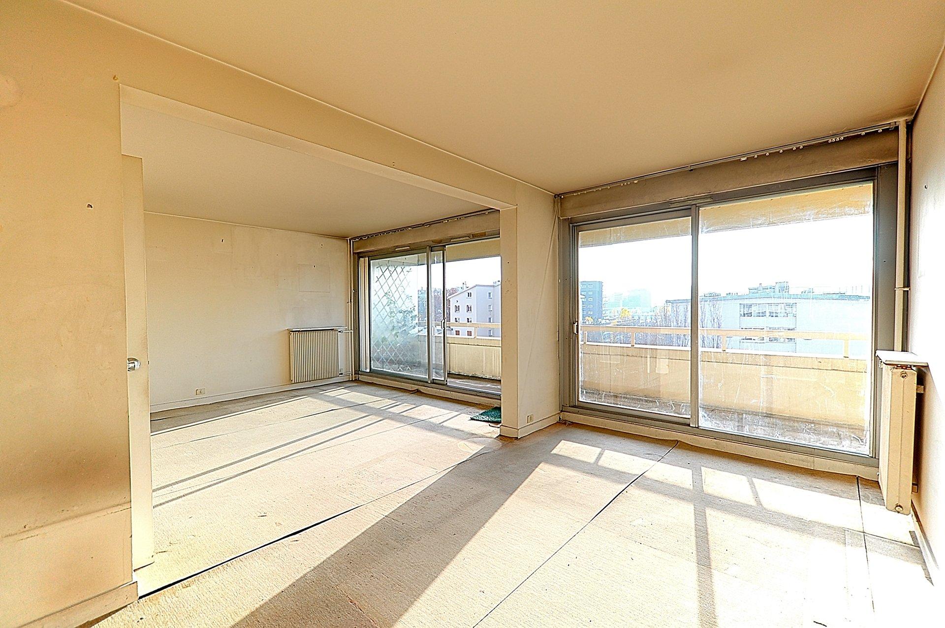 3p balcon terrasse à rénover, parking, secteur Rhin et Danube