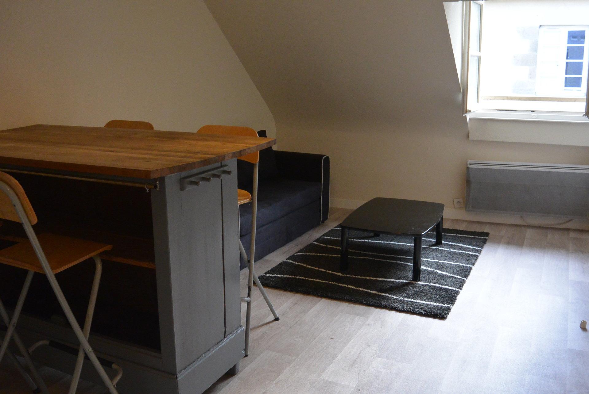 T1bis meublée en centre-ville de Rennes