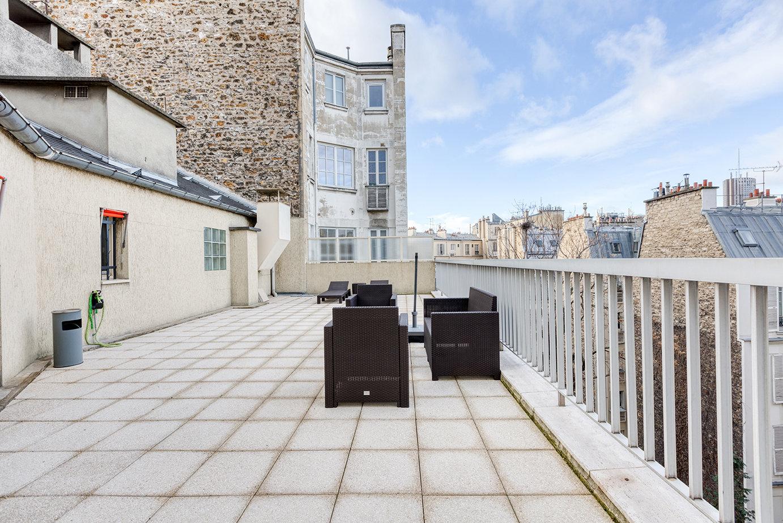 Location appartement avec la terrasse - Avenue Niel, 75017 Paris