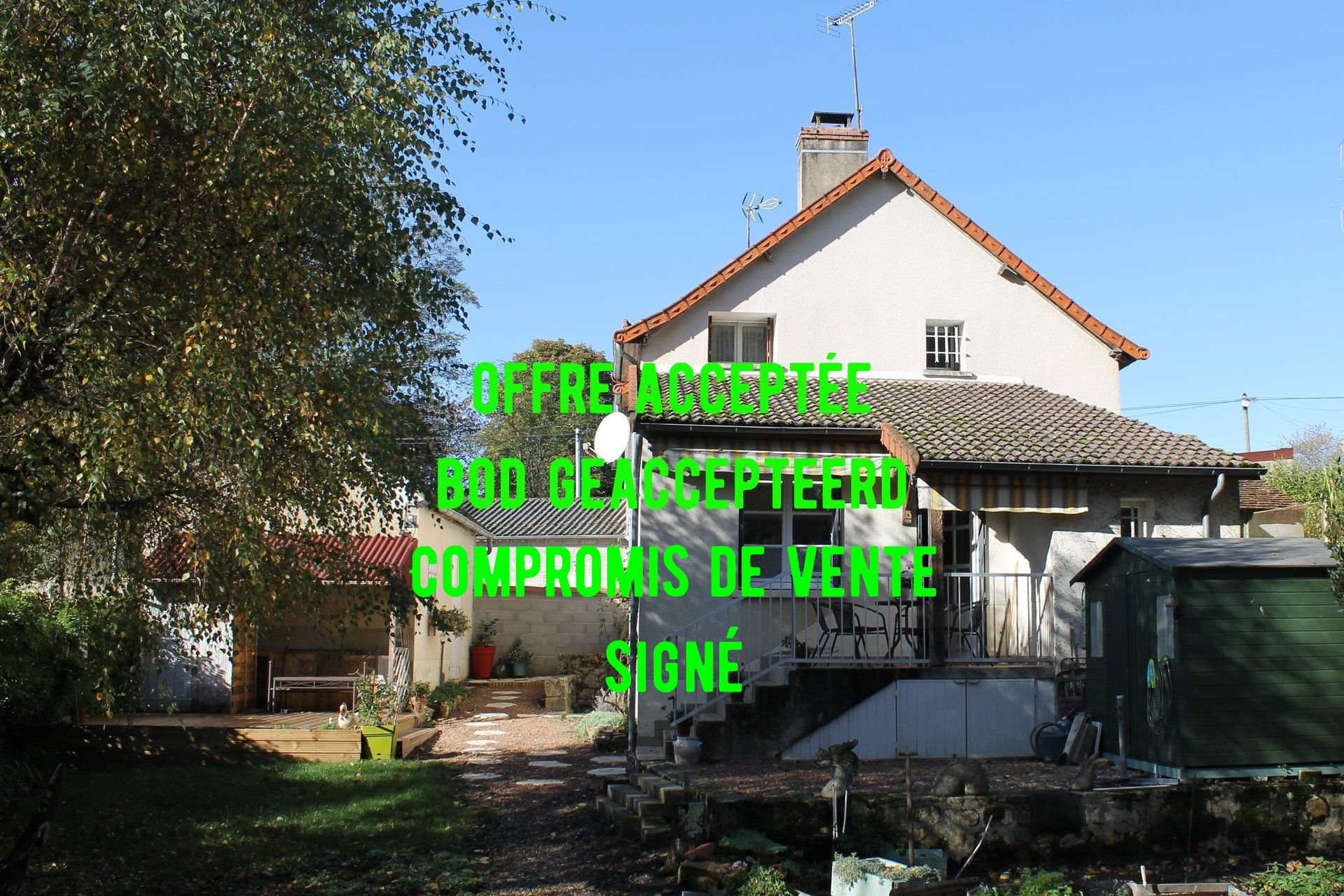 Maison rénovée et confortable à vendre au bord du Morvan