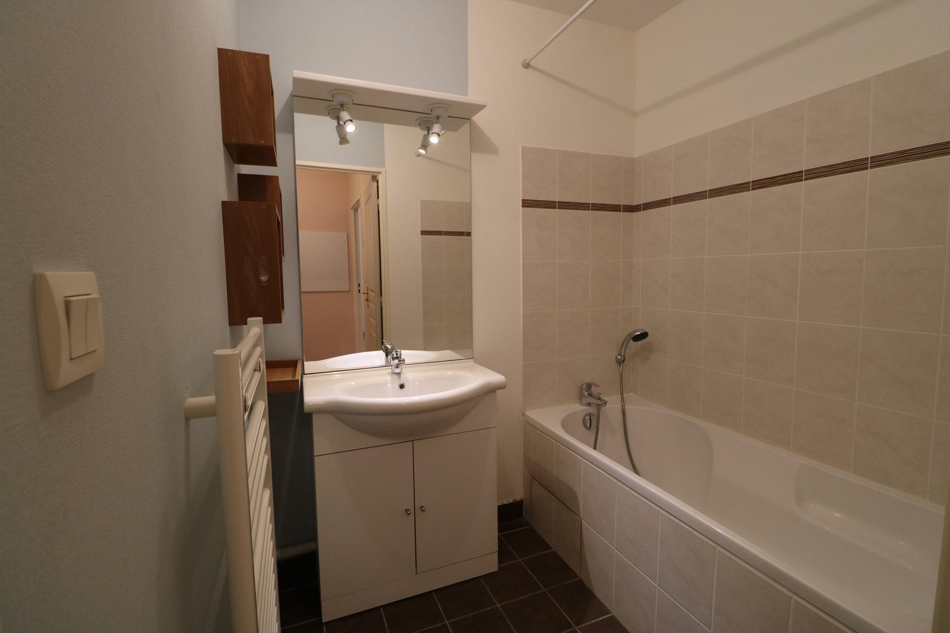T2 de 45,5 m² avec balcon