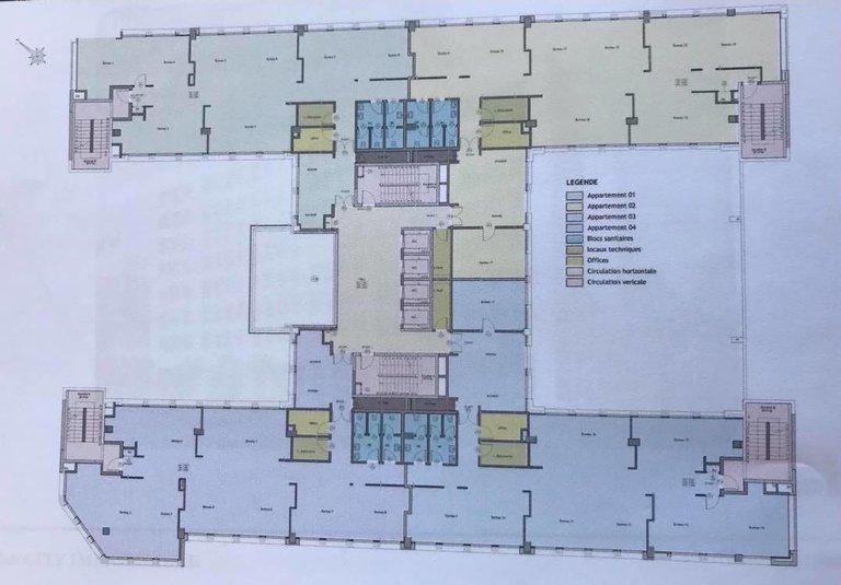 Location Immeuble de Bureaux Neuf