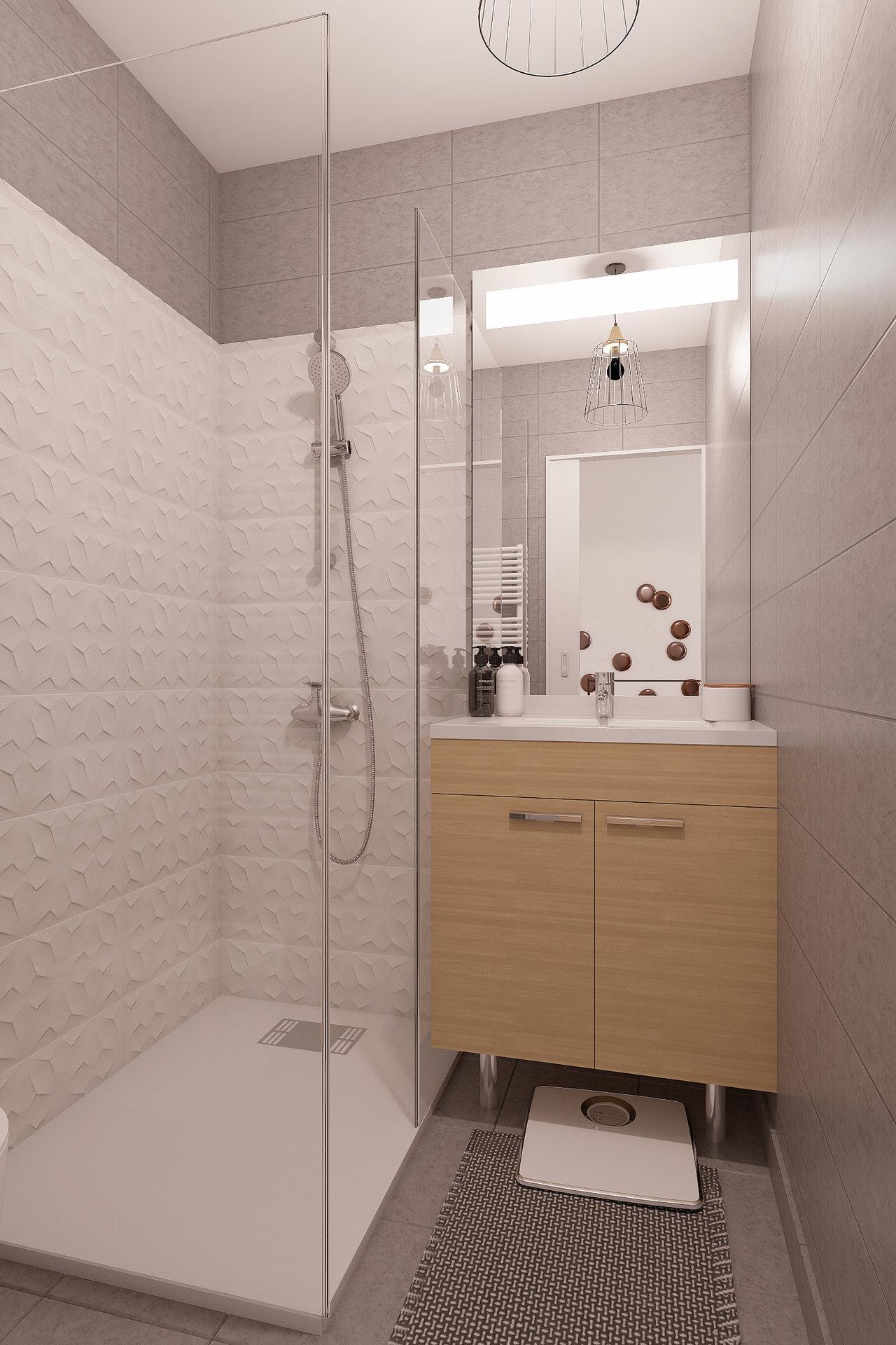 Carabacel/Dubouchage. 1 bedroom duplex apartment under renovation with interior courtyard.