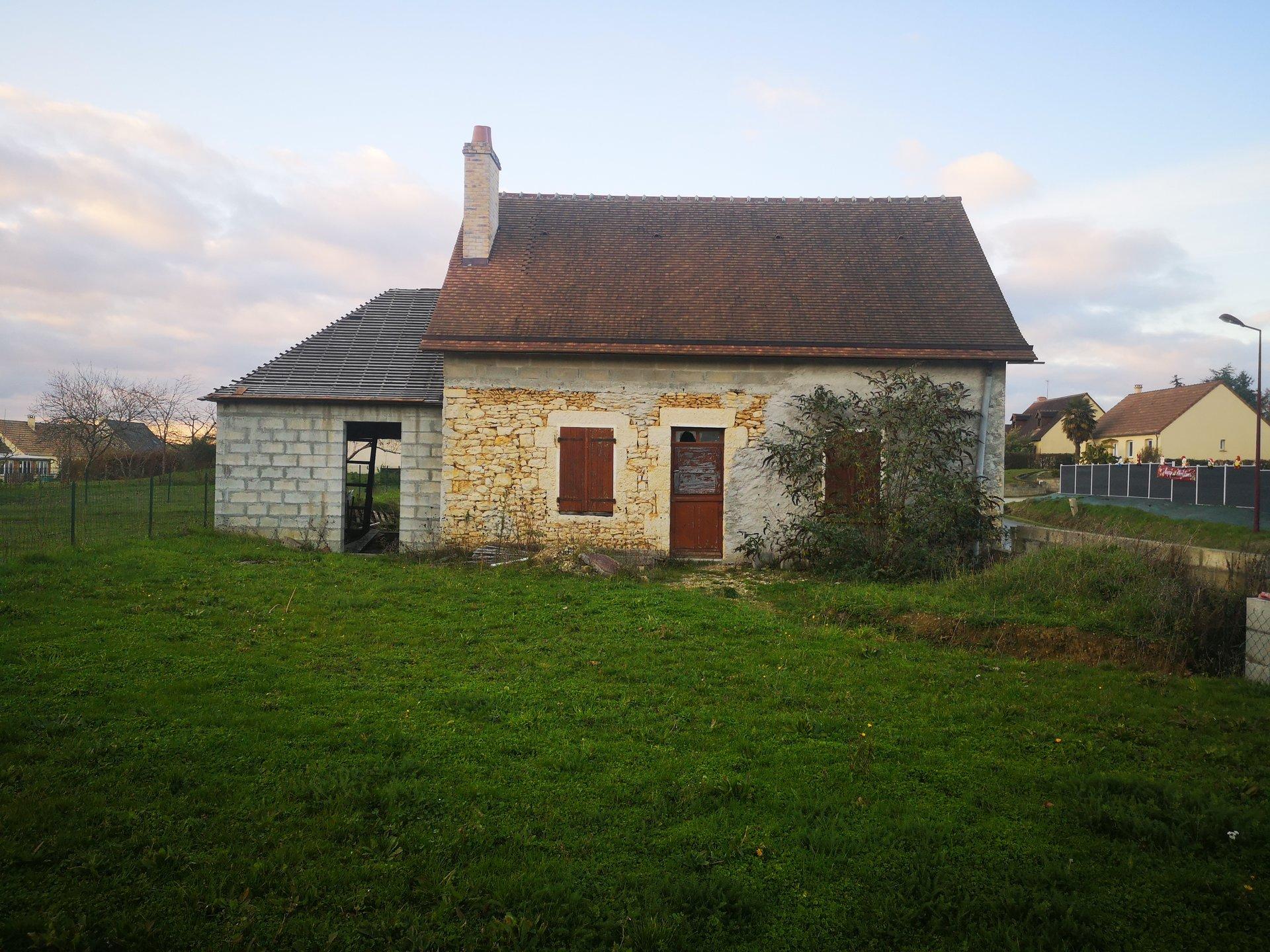 Maison en pierres sur 610m² de terrain