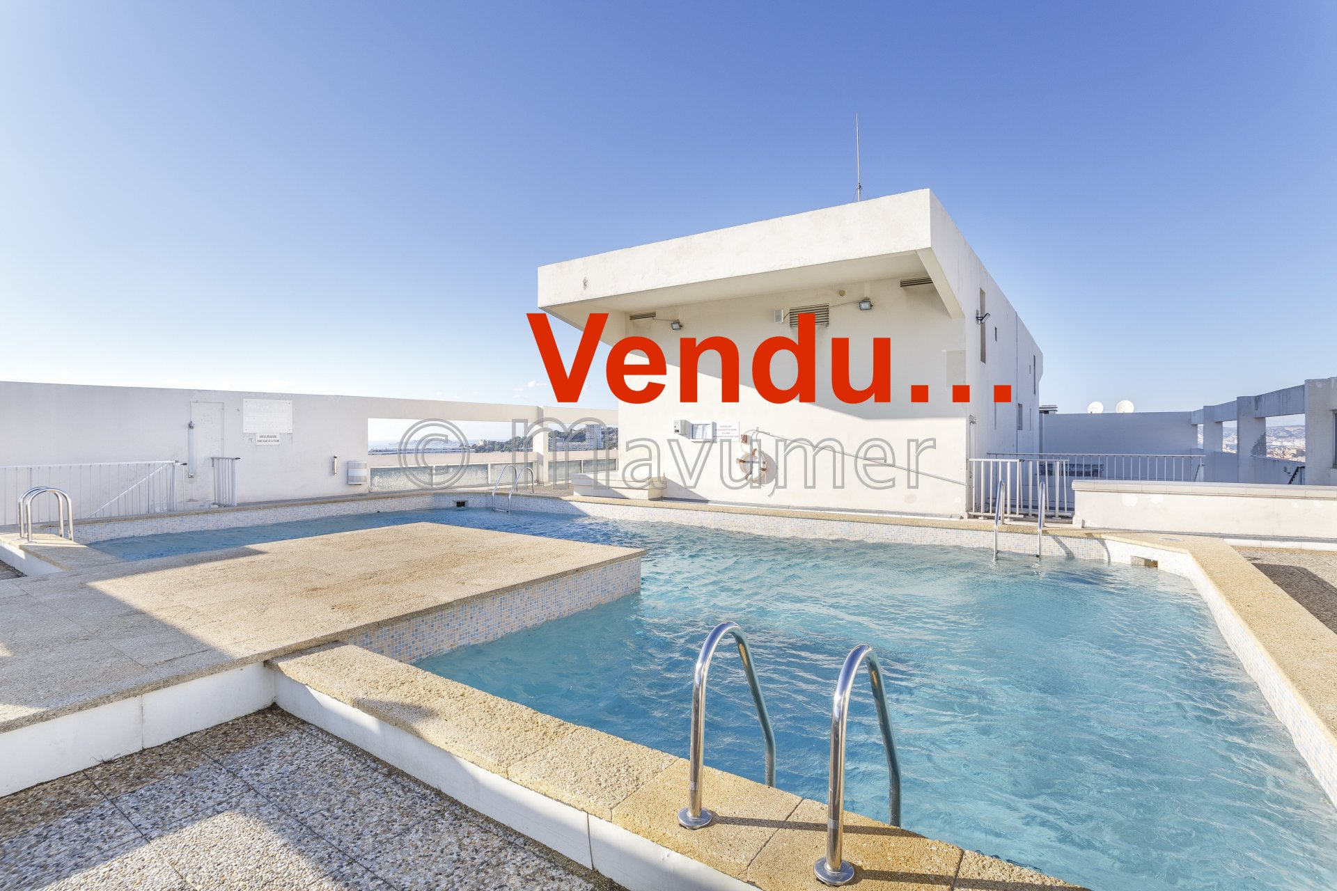 Appartement Type 4 vue mer Marseille 13008