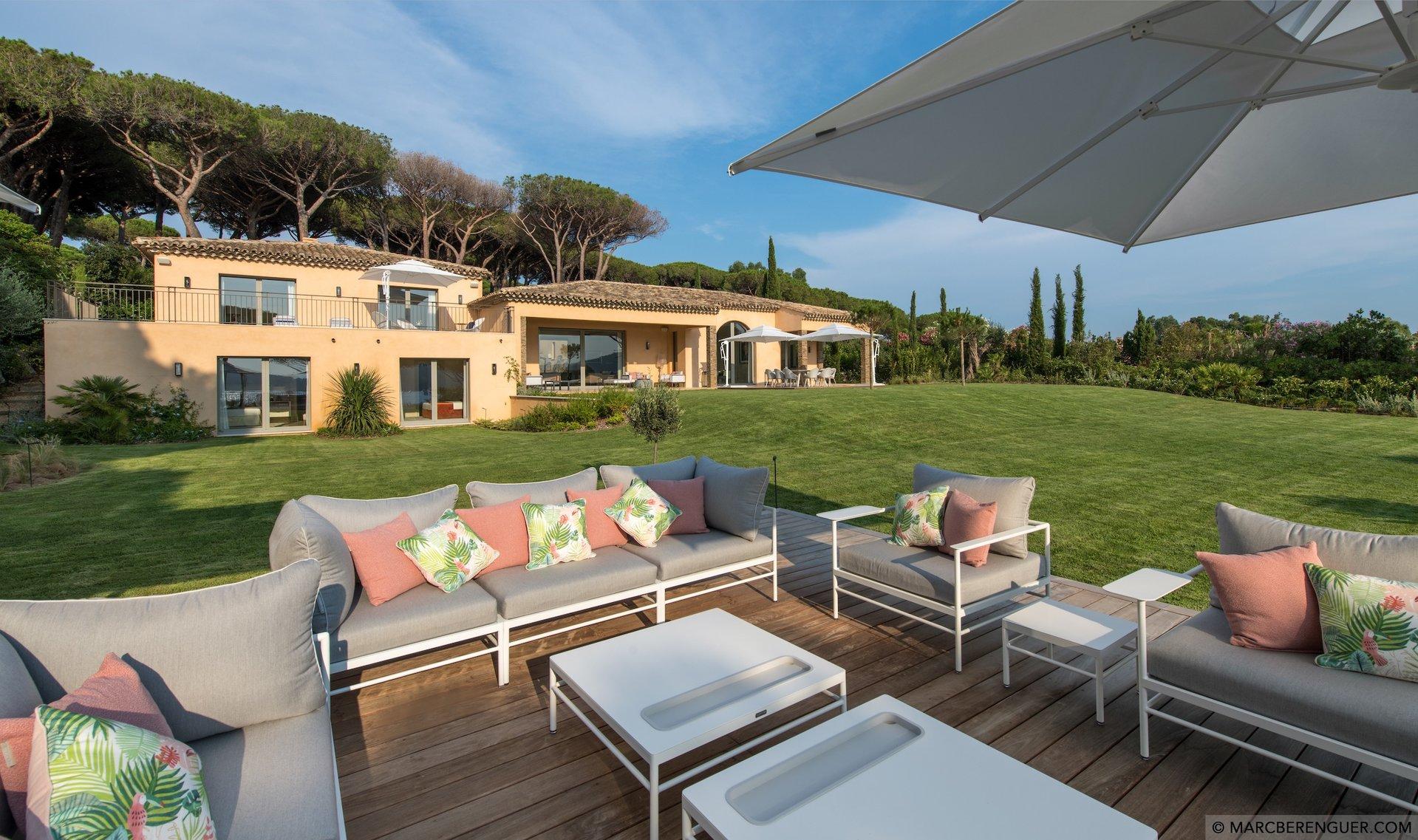 Seasonal rental Villa Saint Tropez Les Parcs