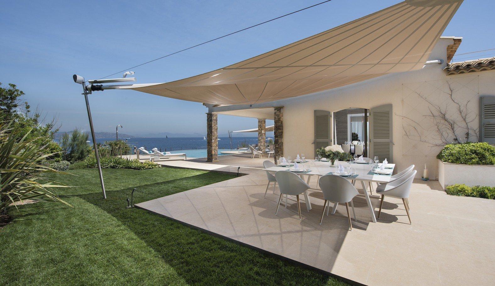 Сезонная аренда Villa Saint Tropez Les Parcs