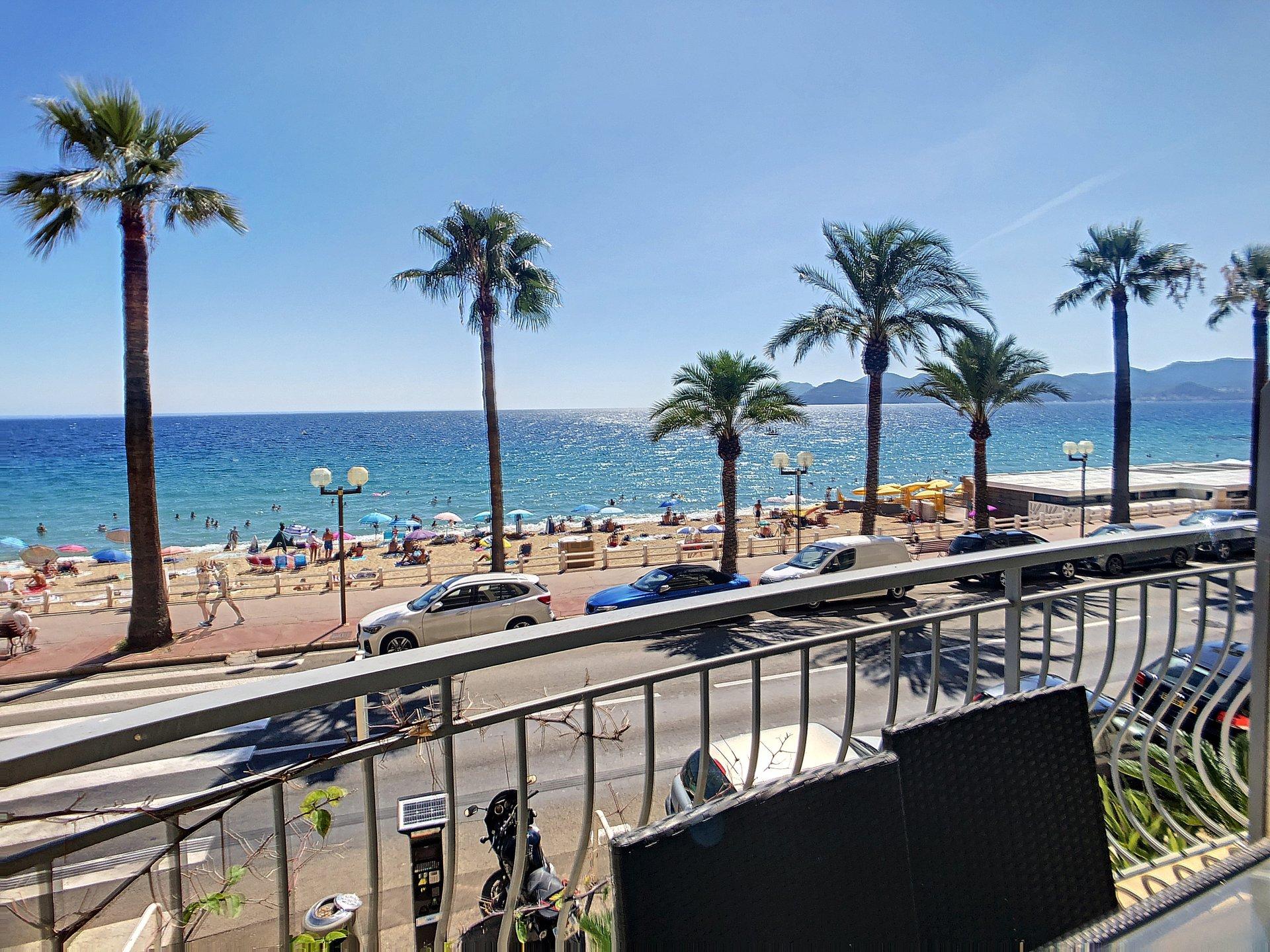 4 rumslägenhet med terrass och havstsikt - Plages du Midi Cannes