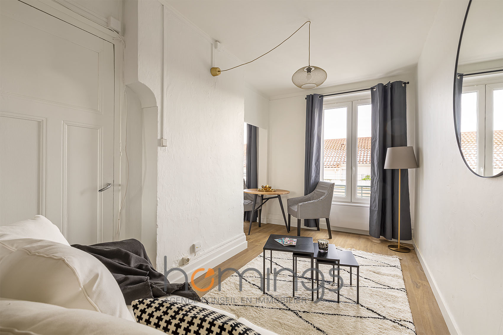 T2 meublé - rue d'Alsace (limite Lyon 6e)