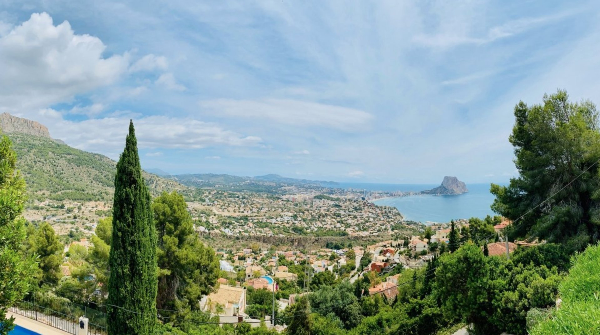 New project in Calpe with spectacular views