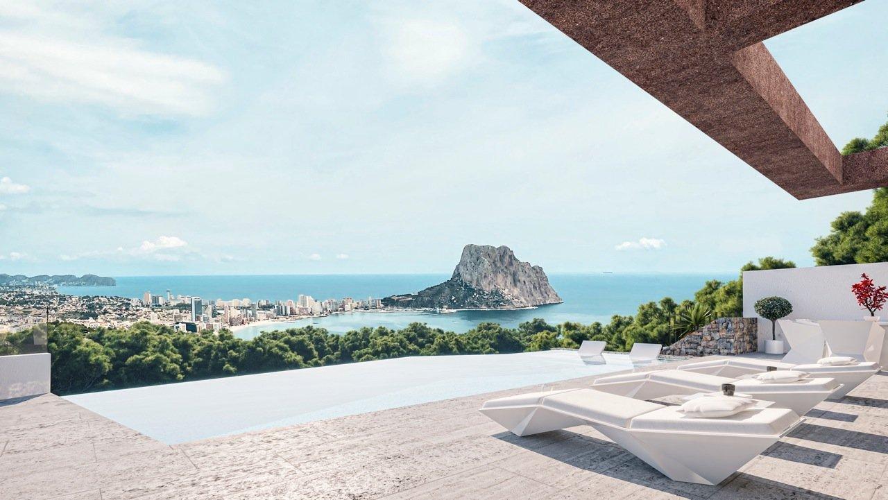 Nieuw project in Calpe met spectaculair uitzicht