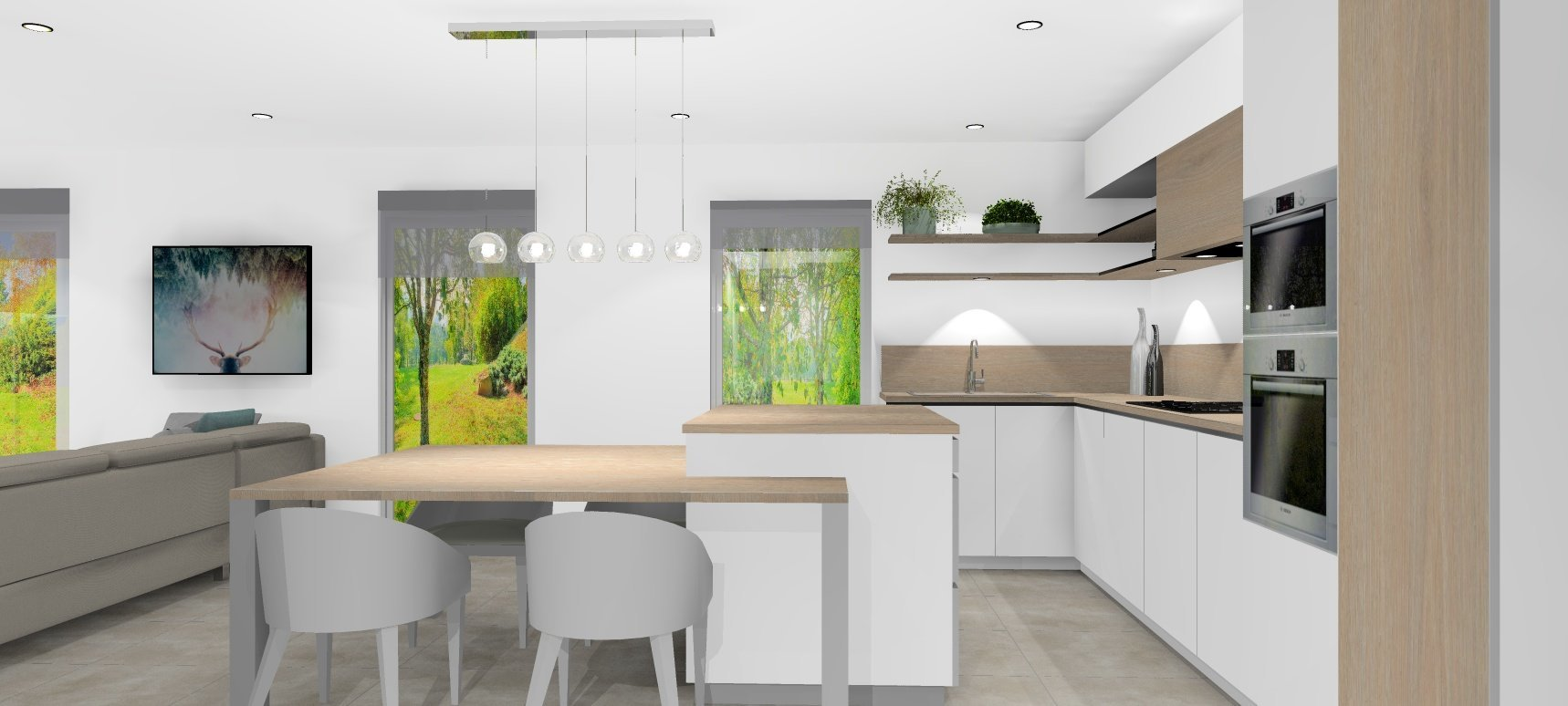 Development Semi-detached house - Jonzier-Épagny