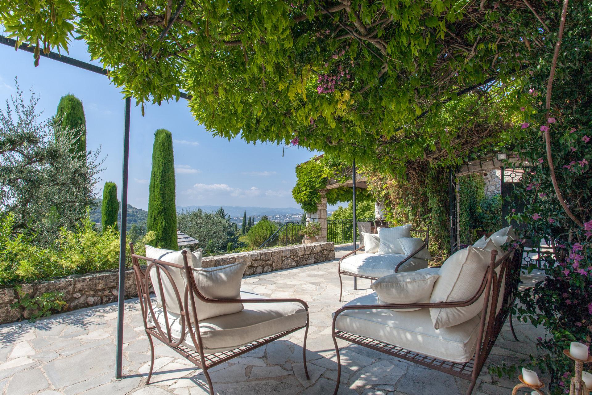 Magagnosc - Exceptionnel mas provençal avec vue panoramique sur mer et campagne